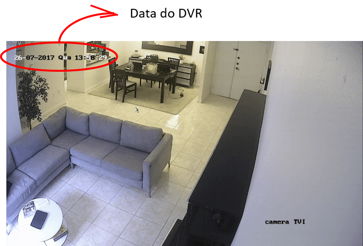 Data do DVR