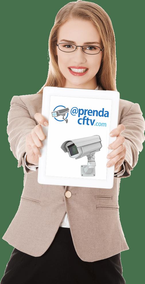 Aprenda CFTV no tablet