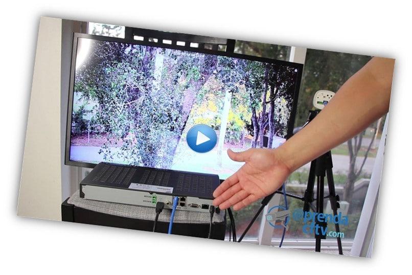 Mostrando gravador de rede
