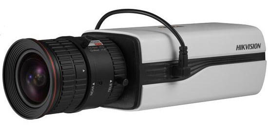 Câmera box Hikvision com alimentação por cabo coaxial (PoC)
