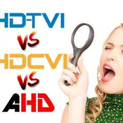 Difrenças entre tecnologias HD-TVI- HD-CVI e AHD