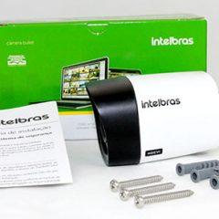 Câmera VHD1010 B com manual e parafusos