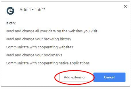 Chrome IE TAB features