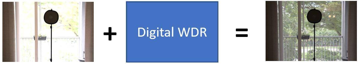 Como funciona uma ccâmera com WDR Digital (DWDR)