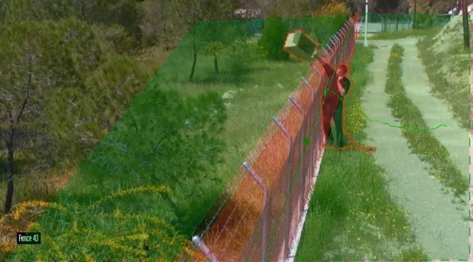 Analise de vídeo avançada - Fence