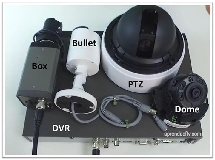 Cameras analógicas e DVR