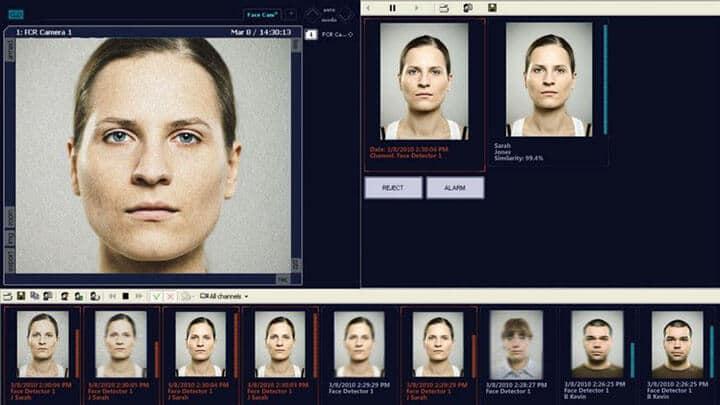 Análise de vídeo avançado - reconhecimento de rostos