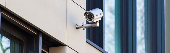 12-volt security camera