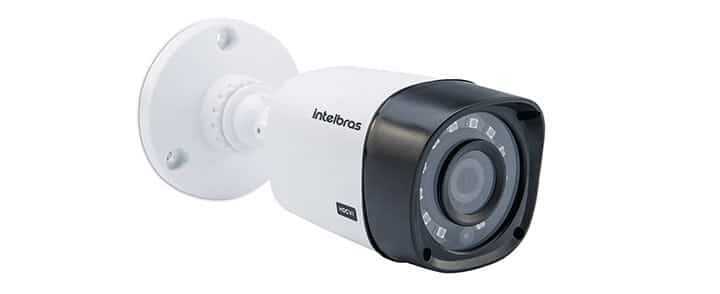 Câmera bullet externa da Intelbras