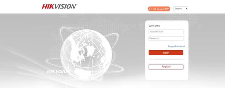 Portal da Hikvision