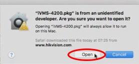 MAC OS - Tela Abrir