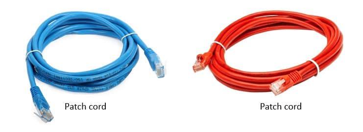 UTP patch cords