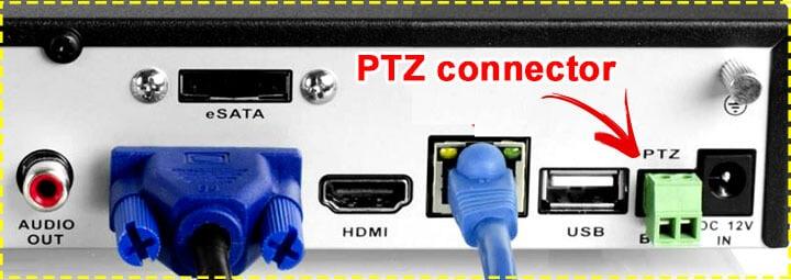 Conector para PTZ  do DVR Amcrest 960H