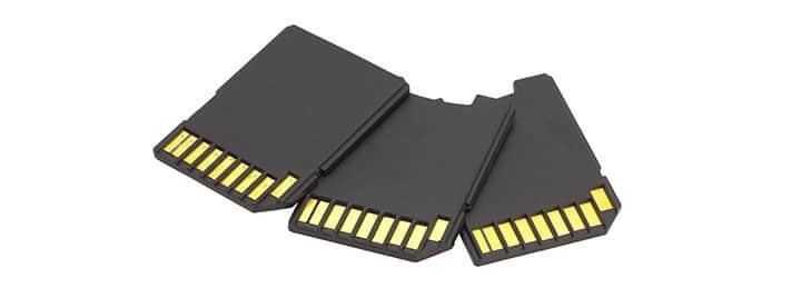 Cartão de memória SD para câmera de segurança