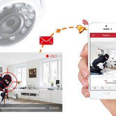 Câmera de segurança para pequenas empresas