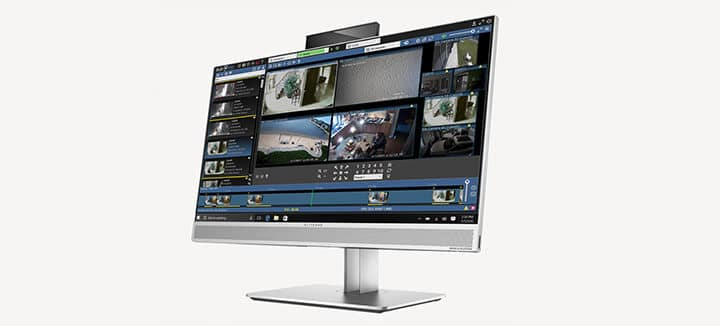 Software de monitoramento da Blue Iris