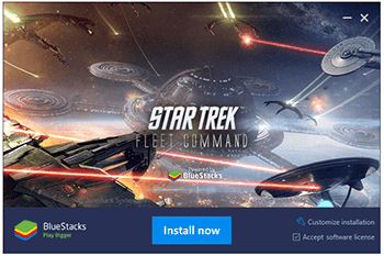 Instalação do BlueStacks