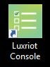Luxriot Evo console