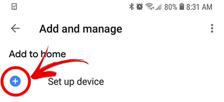 Configuração de dispositivo