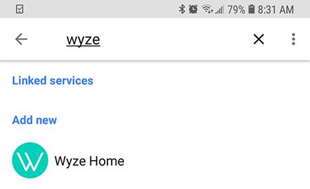 Dispositivo Wyze