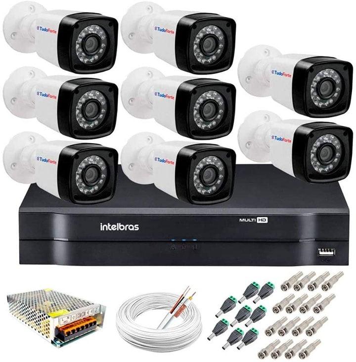 Kit de câmeras da Intelbras