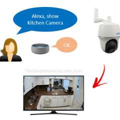 Como adicionar câmera da Relink à Alexa