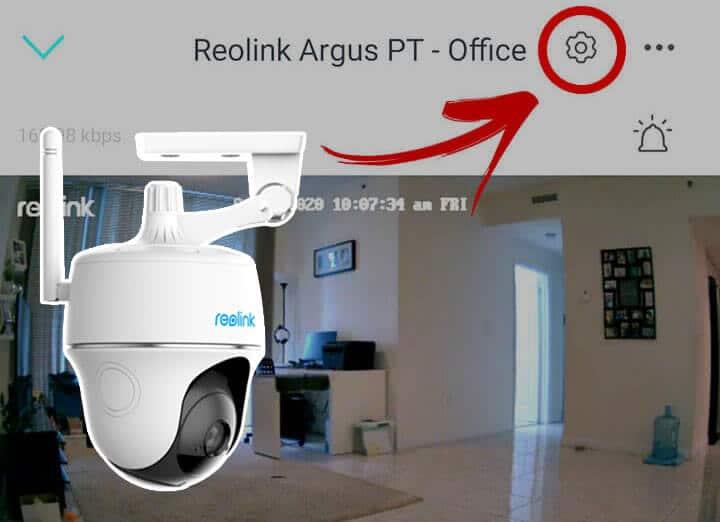 como configurar email na câmera da Reolink