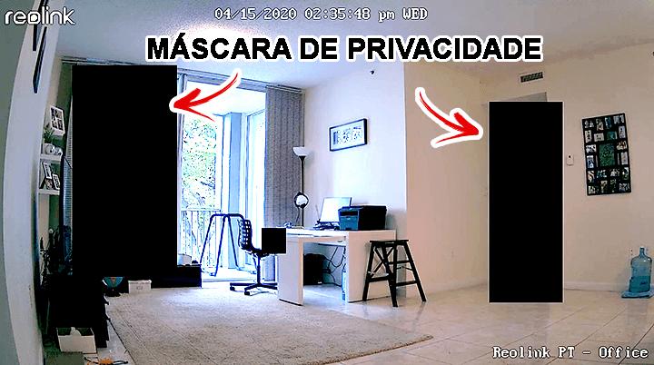 Máscara de privacidade da Reolink Argus PT