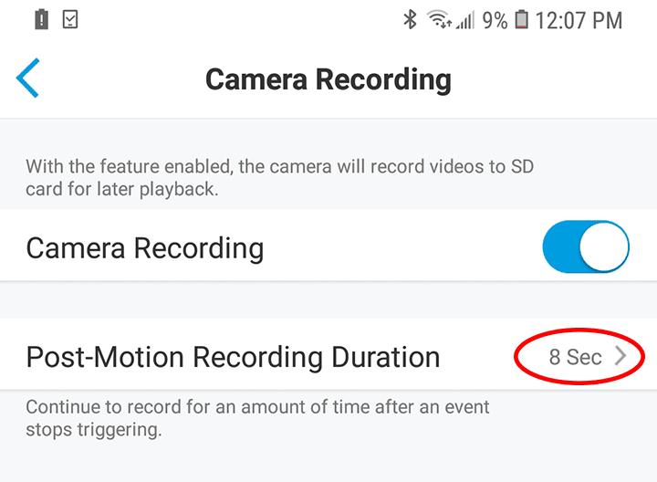 Micro SD Card - Pós movimento