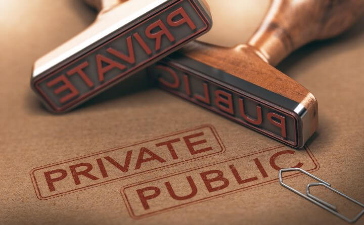 Public or private information