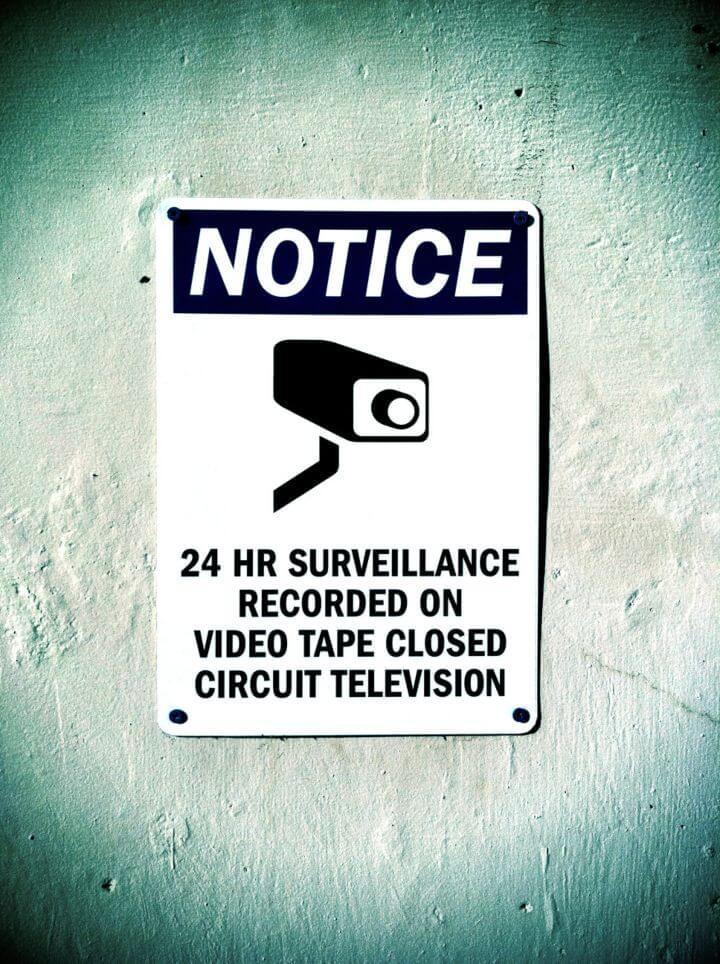 Câmeras de segurança invadem a privacidade ?