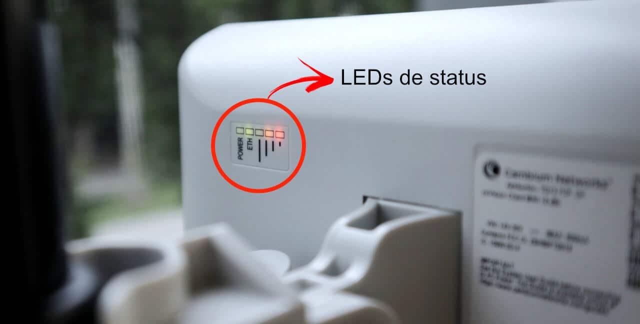 LEDs de status