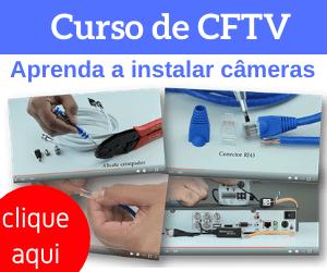 Instalador de câmeras de CFTV