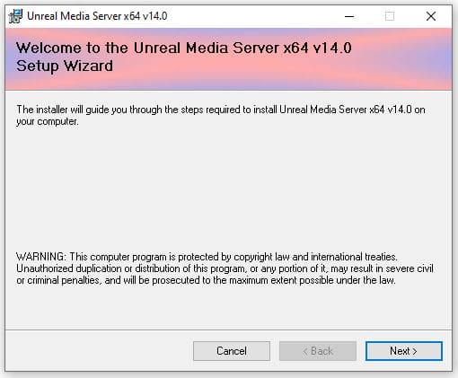 Unteal Media Server - Instalaçao 01