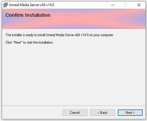Unteal Media Server - Instalaçao 04