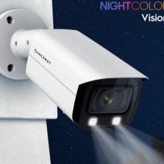 Câmera Amcrest com visão noturna colorida