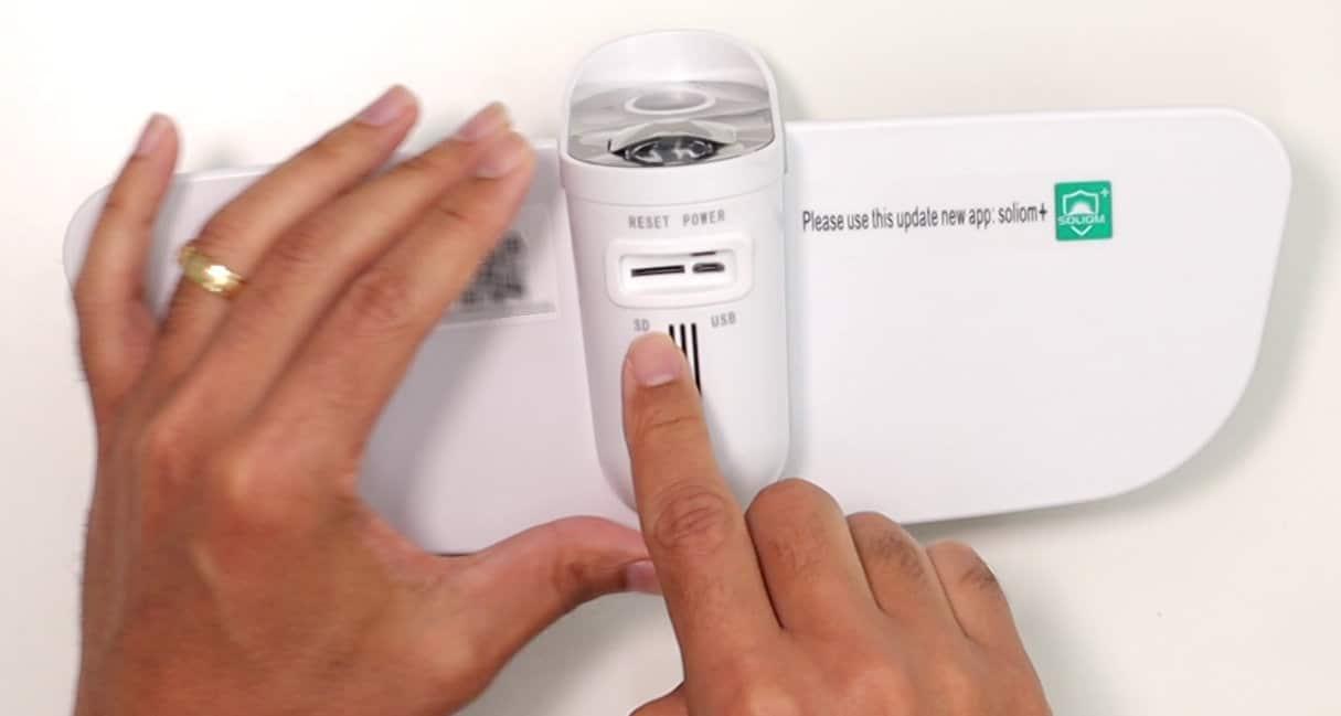 Entrada para cartão micro SD