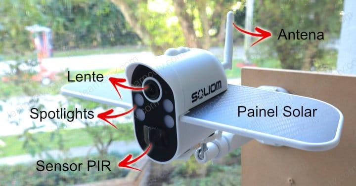 Soliom S100 - Detalhes