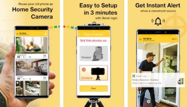 Alfred - App para câmera de segurança