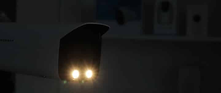 Holofote da câmera Amcrest