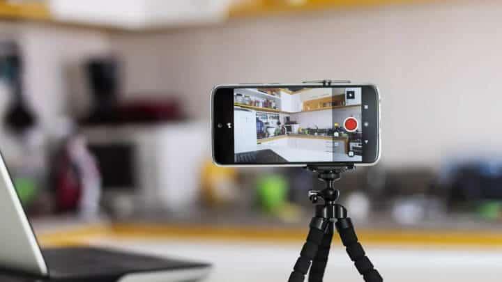 Celular como câmera de segurança